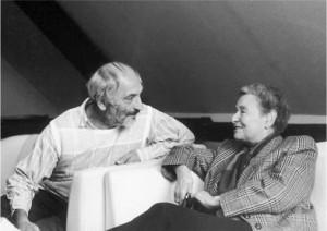 Laura Perls mit Georg Meier